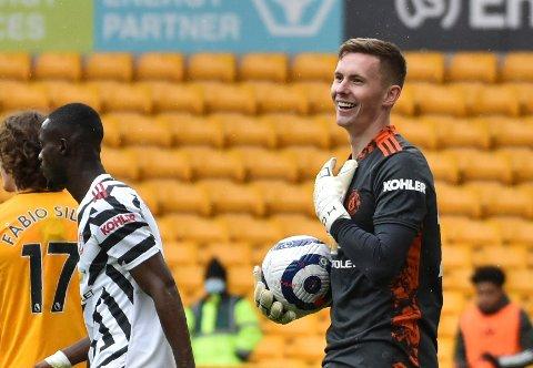 Dean Henderson får ikke deltatt i fotball-EM på grunn av en hofteskade. Foto: Rui Vieira / AP / NTB