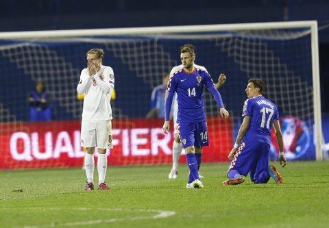 STORTAP: Stefan Johansen og Norge ble slått 5-1.