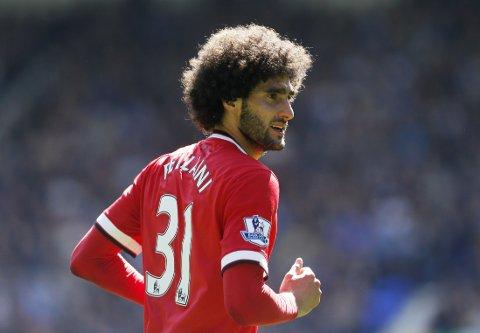 BEDRING: Marouane Fellainis formpil peker stadig oppover i Manchester United.
