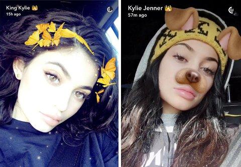 Er du sommerfuglkronen eller hundefilteret? Eller et helt annet filter på Snapchat?
