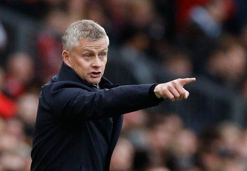 BLIR BOMBADERT MED SPØRSMÅL: En del av jobben til Manchester United-manager Ole Gunnar Solskjær er å møte pressen. Når ting butter imot kan det være en prøvelse.