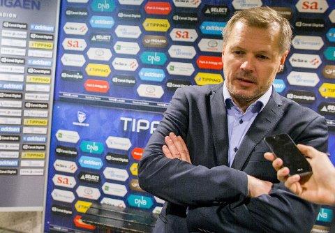 FRYKTET NYT MARERITT: Kjetil Rekdal innrømmer at han ble litt bekymretpå stillingen 1-0.