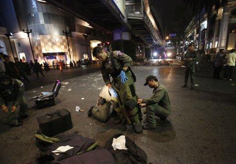 VET IKKE HVEM SOM STO BAK: Ingen har ennå påtatt seg ansvaret for bomben som kostet 22 mennesker livet og skadd 123. Myndighetene har heller ikke anklaget noen spesifikk gruppe.