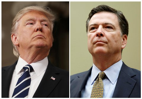 I et overraskende trekk har USAs president Donald Trump valgt å sparke FBI-sjef James Comey.