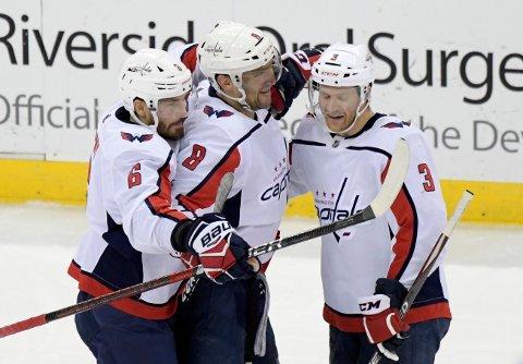 700 MÅL: Alexander Ovetsjkin skrev NHL-historie lørdag.