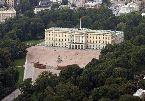 Kongehuset vurderer å installere solcellepaneler på taket av slottet.