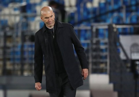 SLUTTER: Zinedine Zidane.