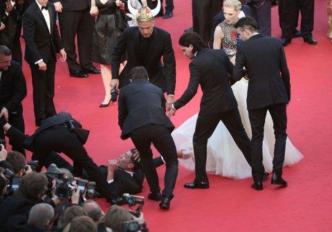 'How to Train Your Dragon 2' film premiere, 67th Cannes Film Festival, France - 16 May 2014 Djimon Hounsou, Cate Blanchett, America Ferrera, Kit Harington, Jay Baruchel