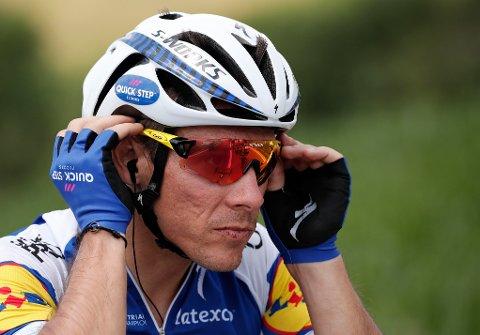 AVBRYTER: Philippe Gilbert har måttet bryte Touren som følge av sykdom.