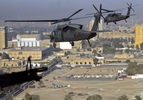 GRESK AVIS: - USA har flyttet fly og helikoptre til Kypros i tilfelle amerikanere må evakueres fra Midtøsten i en krisesituasjon.