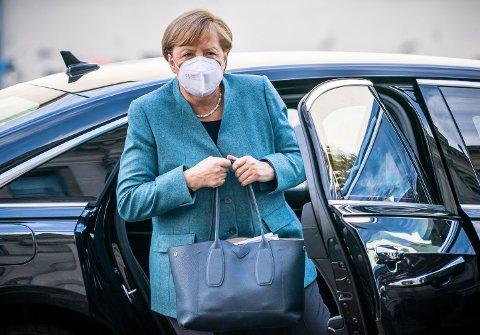 NYE TILTAK: Tyskland skal etter planen gå inn i en delvis nedstenging fra 4. november for å stanse spredningen fram mot jul. Regjeringssjef Angela Merkel presenterer planene onsdag.