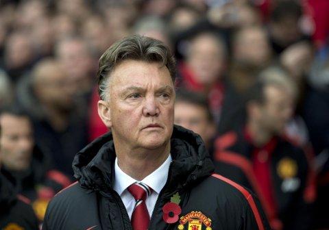 HANS SKYLD? Louis van Gaal er frustrert over alle skadene i Manchester United.