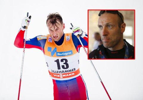 IKKE TROEN: Odd-Bjørn Hjelmeset vil ikke sette pengene sine på at Petter Northug vinner Tour de Ski denne gangen heller.