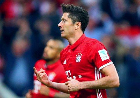 MELDES KLAR: Dagen etter at Robert Lewandowski mistet første mesterligakvartfinale mot Real Madrid, melder Bayern München at storscoreren spiller returoppgjøret.