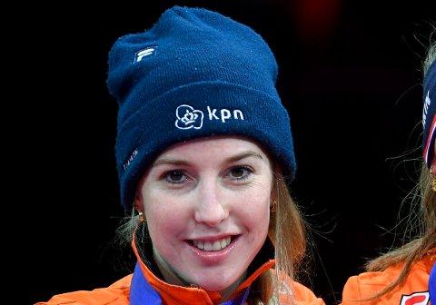 DØDE SVÆRT UNG: Den nederlandske kortbaneløperen på skøyter Lara van Ruijven (27) er død etter et sykehusopphold i Frankrike.