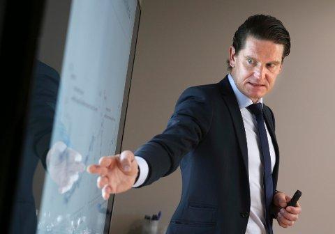 MOT GAMLE HØYDER: Sjeføkonom Kjetil Olsen i Nordea Markets tror kronen kan styrke seg til nivåer vi ikke har sett på lang tid.