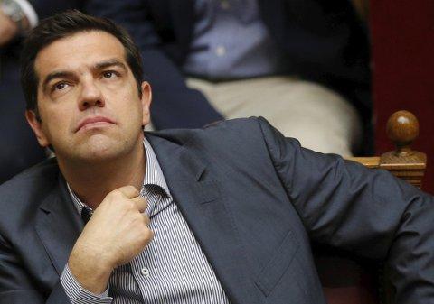 Statsminister Alexis Tsipras lovet fattige pensjonister utbetalinger på rundt 5,5 milliarder kroner, fordelt til rundt 1,6 millioner pensjonerte statsansatte.