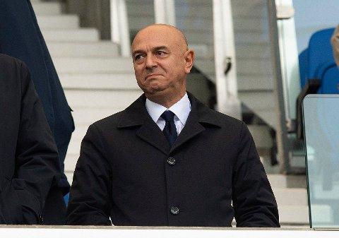 KOMMER MED UTTALELSE: Daniel Levy, styreformann i Tottenham.