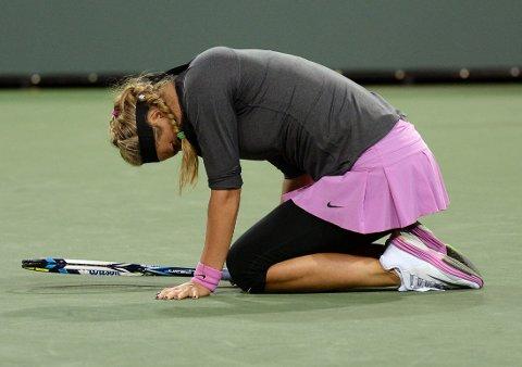 TREKKER SEG: Tennisesset Victoria Azarenka.