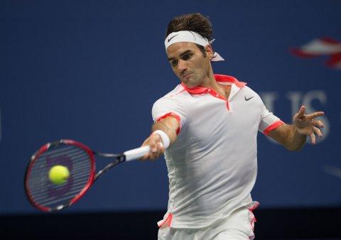 OUTSIDER: Roger Federer har ikke vunnet en Grand Slam-turnering siden Wimbledon i 2012. Søndag har han sjans til å ta tilbake tronen i US Open.