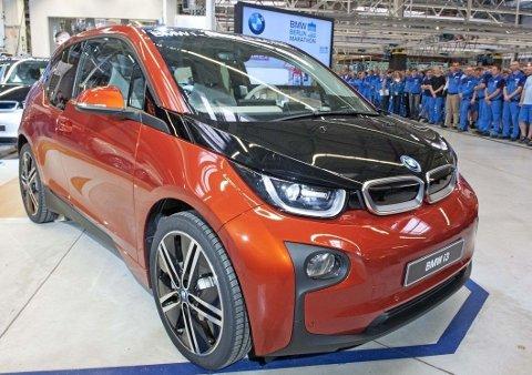 Elektriske i3 har vært en stor suksess i Norge i flere år. Men nå er det tomt for biler hos importøren. Her fra produksjonsstarten av bilen.