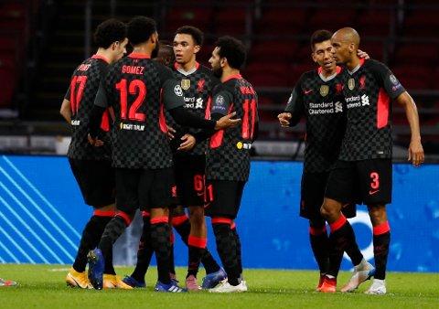 TRE POENG: Liverpool åpnet årets sesong av Champions League med å vinne bort mot Ajax.