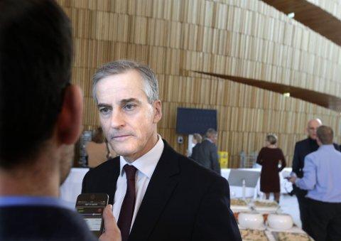 BEKLAGER: - Vi har alle blitt klokere med årene, erkjenner Ap-leder Jonas Gahr Støre.