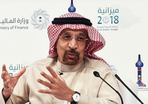 Khalid Al-Falih er både Saudi-Arabias energiminister og styreleder i oljegiganten Saudi Aramco.