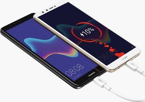 PRESTISJE: Huawei Y9 ble lansert med teknologi fra Fingerprints.