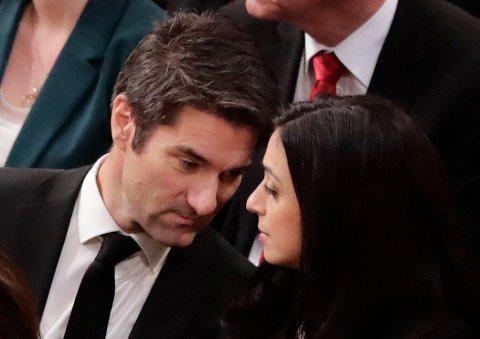 Hadia Tajik og Kristian Skard ble kjærester høsten 2018.