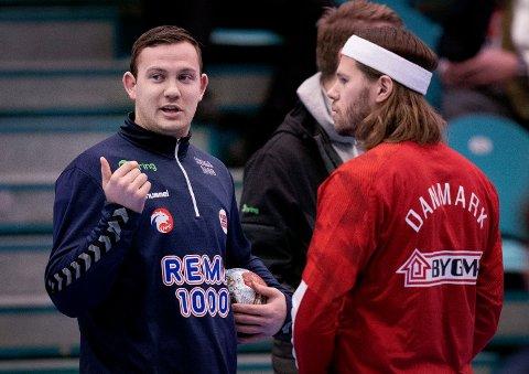 Sander Sagosen kom ikke med på sesongens stjernelag i håndball der Mikkel Hansen fikk plass. Foto: Liselotte Sabroe / NTB