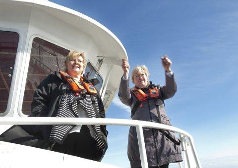 NY FYLKESMANN: Elisabeth Aspaker (H) klarerte sin jobbsøknad med statsministeren.