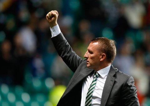 UBESEIRET: Celtic-manager Brendan Rodgers er ubeseiret mot skotske lag som Celtic-manager, der han er godt inne i sitt andre år i jobben.