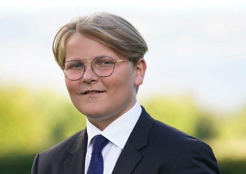 Prins Sverre Magnus starter på videregående til høsten. Foto: Lise Åserud / NTB / POOL