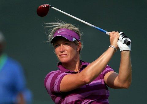 DÅRLIG START: Suzann Pettersen åpnet svakt i U.S, Open.