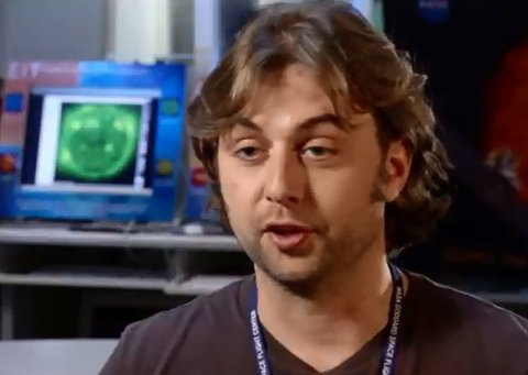 MULTITALENT: Ryan Milligan er ikke som alle andre lastebilsjåfører. Milligan har nemlig doktorgrad i astrofysikk og startet nettopp et forskningsarbeid for NASA - samtidig som han fortsatt kjører lastebil.