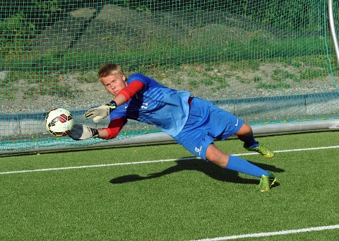 Ullerns August Einstabland trener med Strømsgodset.