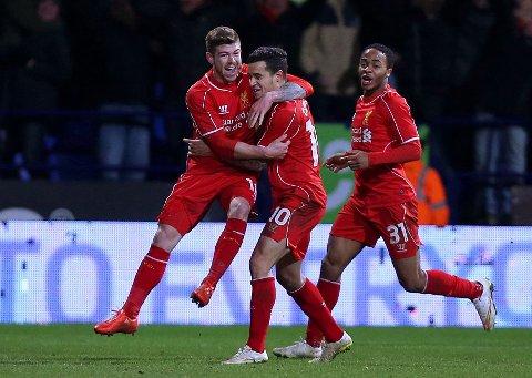 MATCHVINNER: Liverpools Philippe Coutinho.