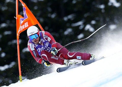 GODT KJENT: Kjetil Jansrud var ikke overraskende rask på utfortreningen i Kvitfjell fredag.
