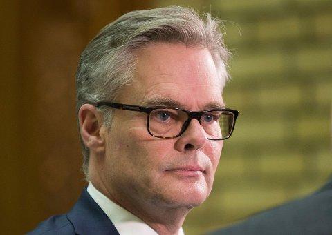 Hans Andreas Limi er parlamentarisk leder for Fremskrittspartiet.
