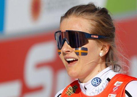 REAGERER: Skiskytteren Stina Nilsson innrømmer at hun blir provosert av kroppspresset kvinnelige utøvere opplever.