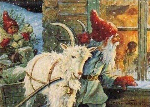 JENNY NYSTRÖM ble en folkekjær, svensk illustratør og er i Sveriges kjent som tomtens mamma.