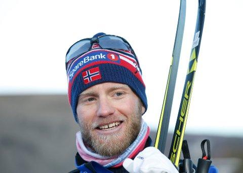SUVEREN: Fredag ble han disket, men lørdag var det ingen tvil om at Martin Johnsrud Sundby var best på Beitostølen.