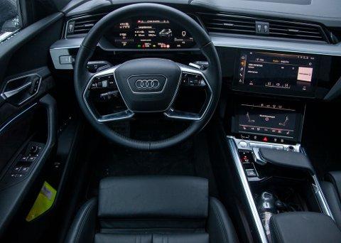 Elektriske e-tron har gitt Audi en historisk opptur i Norge. Salget er opp over 200 prosent.