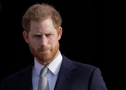 36 år gamle prins Harry kunngjorde onsdag at han har fått enda en ny jobb i USA. Arkivfoto: Kirsty Wigglesworth / AP / NTB
