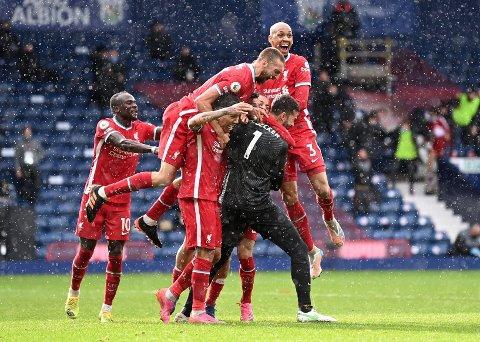 SEIER: Alisson reddet Liverpool på overtid.