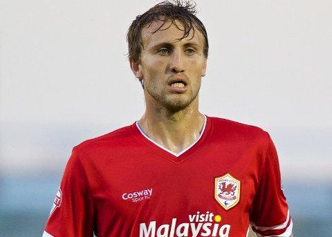 VIL SPILLE: Cardiff-spiller Magnus Wolff Eikrem.