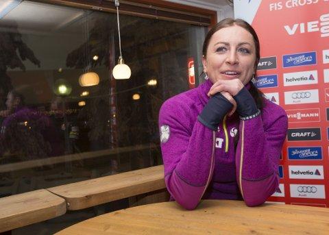 IKKE BEKYMRET: Justyna Kowalczyk frykter ikke at VM skal gå like dårlig som Tour de Ski gjorde.