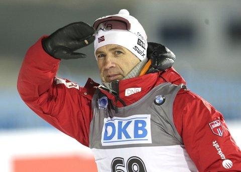 TILBAKE: Ole Einar Bjørndalen er tilbake i Kontiolahti, der han mislyktes på stafetten under VM i 1999.
