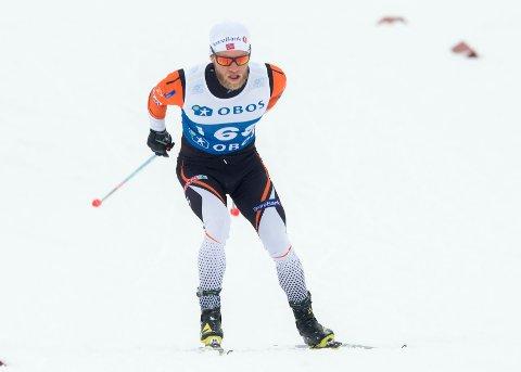 VANT: Martin Johnsrud Sundby vant femmilen i NM.